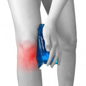 Pain may be aggravated with weight bearing